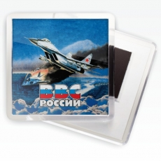 Магнитик ВВС «МИГ-29» фото