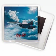 Магнитик ВВС «СУ-27» фото