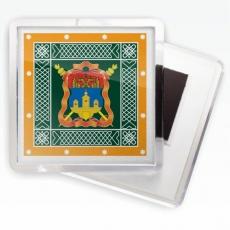 Магнитик «Иркутское казачье войско» знамя фото
