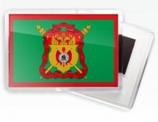 Магнитик «Флаг Сибирское казачье войско» фото
