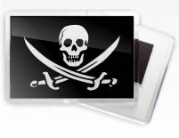 Магнитик с черепом «Пиратский»