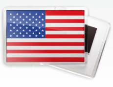 Магнитик «Флаг США» фото