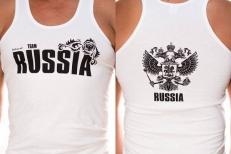 """Майка """"Russia"""" фото"""