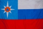 "Флаг ""МЧС России"" триколор фотография"