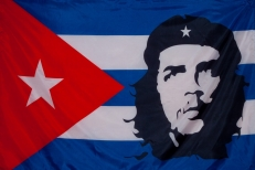 "Флаг Кубы ""ЧЕГЕВАРА"" фото"