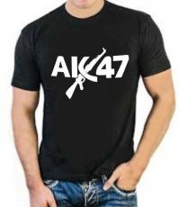 """Футболка стрейч """"АК-47"""" фото"""
