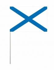 Флажок на палочке «Андреевский флаг» фото