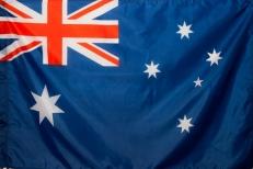 Флаг Австралии фото