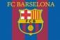 "Флаг ""FC Barselona"" фотография"