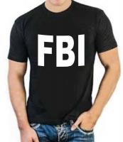 """Футболка стрейч """"FBI"""""""