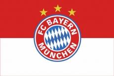"""Флаг """"FC Bayern Munchen"""" фото"""