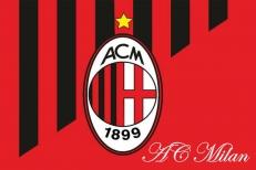 """Флаг """"AC Milan"""" фото"""