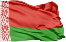 Двухсторонний флаг Беларуси фото