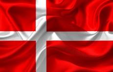 Флаг Дании фото
