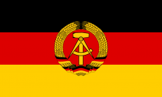 Флаг ГДР фото