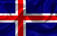 Флаг Исландии фото