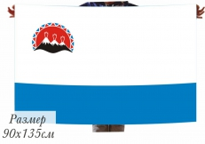 Двухсторонний флаг Камчатского края фото