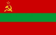 Двухсторонний флаг Молдавской ССР фото