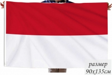 Флаг Монако фото