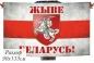 """Флаг """"Жыве Беларусь!"""" с Погоней фотография"""