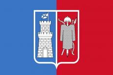 Двухсторонний флаг Ростова-на-Дону фото