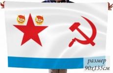 Флаг дважды Краснознамённого Балтийского флота ВМФ СССР фото