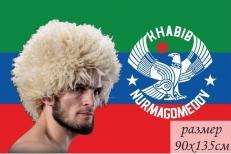 Флаг Дагестана с Хабибом Нурмагемедовым фото