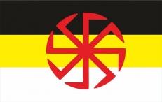 Флаг на машину Коловрат Имперка фото