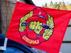 Флаг на машину с кронштейном Спецназ ВВ фото
