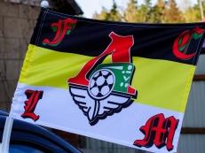 Флаг на машину с кронштейном Имперка Логомотив фото