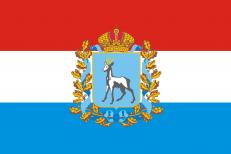 Двухсторонний флаг Самарской области фото