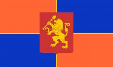 Двухсторонний флаг Красноярска фото