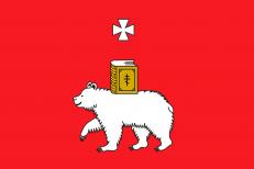 Двухсторонний флаг Перми фото