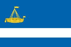 Двухсторонний флаг Тюмени фото