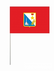 Флажок Севастополя на палочке фото