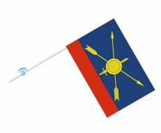 Флаг на машину с кронштейном «РВСН» фото