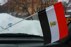 Флажок в машину с присоской Египет фото