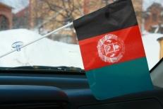 Флажок в машину с присоской Афганистан фото