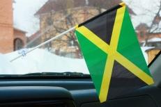 Флажок в машину с присоской Ямайка фото