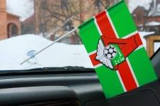Флажок в машину с присоской Локомотив крест фото