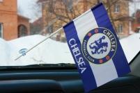 Флажок в машину с присоской ФК Челси