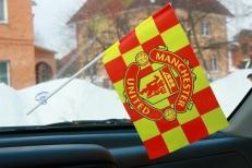 Флажок в машину с присоской ФК Манчестер Юнайтед фото