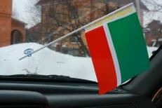 Флажок в машину с присоской Чечня фото