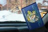 Флажок в машину с присоской Жить хорошо