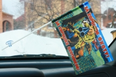 Флажок в машину с присоской За хорошую охоту фото