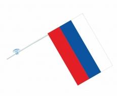 Флаг России с присоской в машину фото