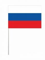 Флаг России на палочке фото