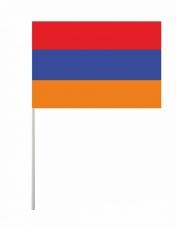Флажок Республики Армения на палочке фото