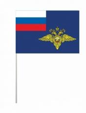 Флажок на палочке «Флаг МВД» фото