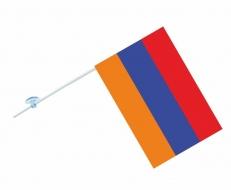 Флажок с присоской Флаг Республики Армения фото